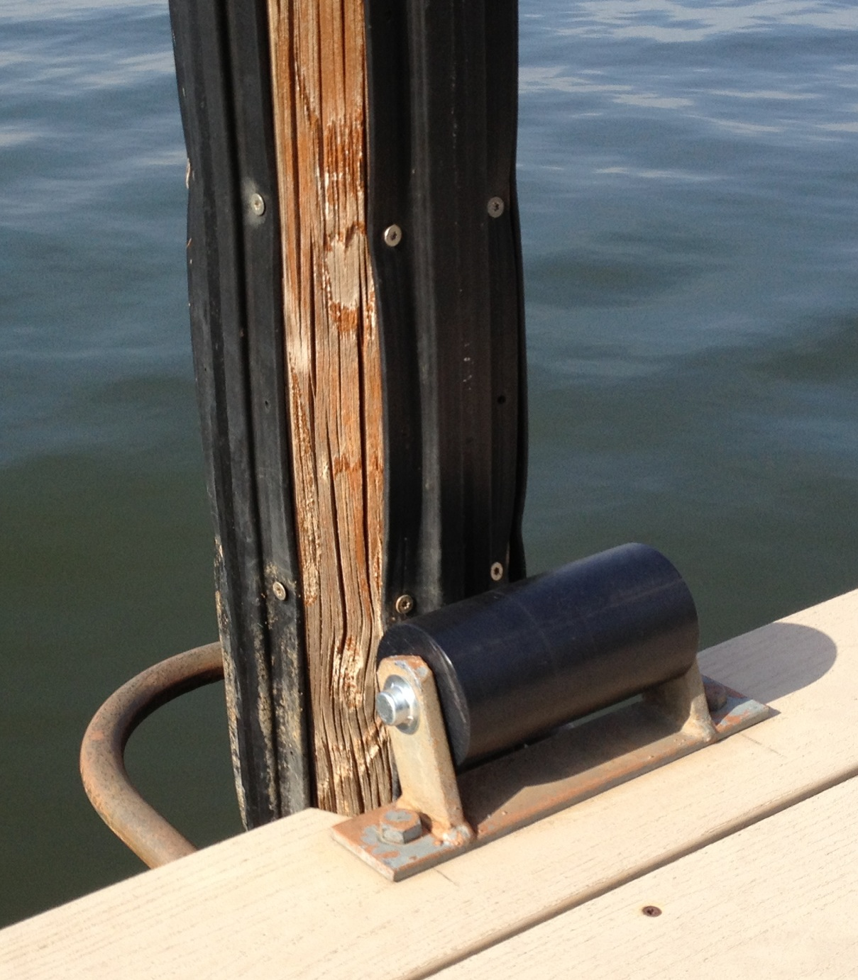 Replacement Dock Rollers | Piling-Guard